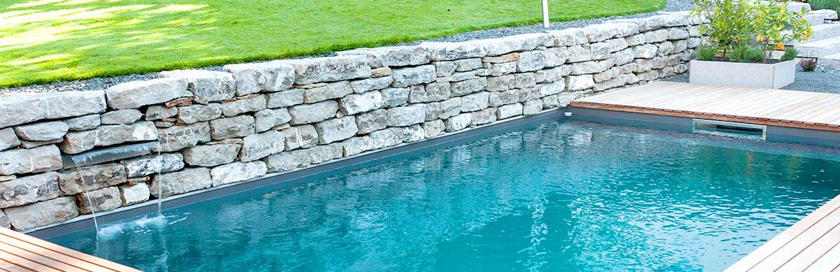 Pool im Garten - gartencraft