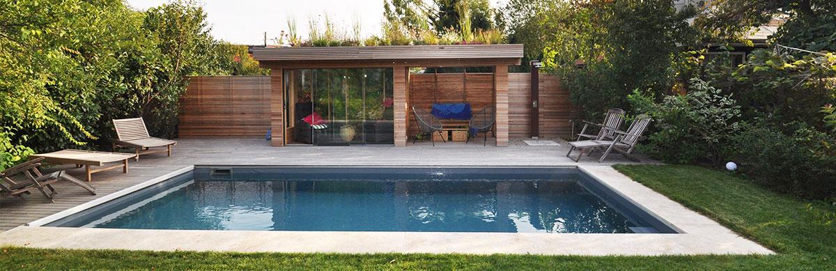 Garten mit Pool von gartencraft