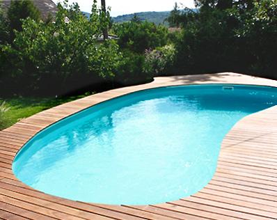 Der ovale Pool im modernen Kleingarten - Gartencraft